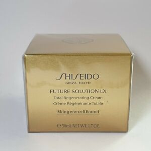 Shiseido Night Cream Future Solution LX Total Regenerating Cream 1.7oz.50ml New