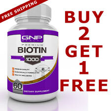 Biotin - Hair Loss - Anti Aging - Healthy Skin and Strong Nails - 1 Month Supply
