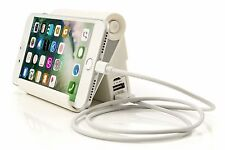 Powerful Battery Bank Cell Phone Charger Stand & Cables iPhone Samsung Galaxy