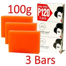 Kojie San 3-Pack Skin Whitening Lightening Bleaching Kojic Acid Soap 100 gramsx3