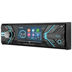 "Power Acoustik PD348B 3.2"" Single Din Receiver With Bluetooth"