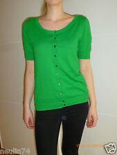 BENETTON Pullover Strickjacke Damen Gr. S grün