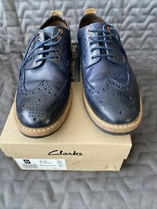 Mens Brouge Shoes Size 8