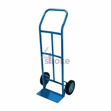 2x 265lb Heavy Duty Sack Truck Industrial Hand Trolley With Pneumatic Tyre Wheel