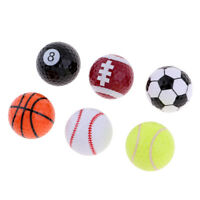 6pcs Funny Golf Balls Indoor Outdoor Golf Traning Practice Novelty Gift Ball