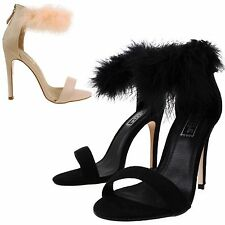 Women's Strappy, Ankle Straps Faux Suede Special Occasion Shoes