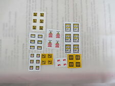 1/32 SCALE WARNING DECALS STICKERS PRE CUT BRITAINS UH SIKU CONVERSIONS