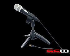 CAD U1 USB MICROPHONE WITH STAND & USB CABLE AUTHORISED DEALER - PODCASTING MIC