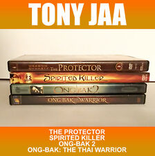 Tony Jaa DVD Lot 4 Ong Bak 1 2 Protector Killer Thai Warrior Muay Movie Fight MA