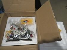 Danbury Mint Dallas Cowboys Sleigh Christmas Collection #F3315 w Box MIB