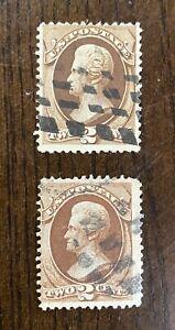 Vintage US Stamps , #146 & #157