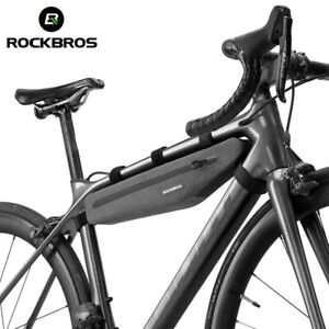 RockBros Bike Bag Front Tube Triangle Lengthed 1.5L Full Waterproof Bicycle Bag