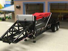 1/64 DCP BLACK MANAC CPS BOTTOM DUMP W/ RED TARP