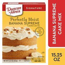Duncan Hines Perfectly Moist Banana Supreme Cake Mix