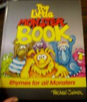 The Little Monster Book, Rhymes for all Monsters, Michael Salmon, Hardback 1989