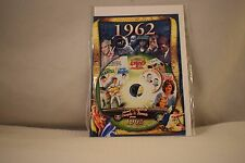 Flickback Greeting or Birthday Card With DVD  For Those Born in 1962    (v417)