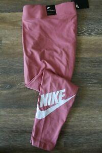 NWT NIKE Womens Plus Futura Althletic Workout Leggings Pants Pink 1X