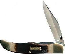 Schrade Old Timer Lockblade Pioneer Clip Folder 7Cr17 High Carbon Steel  223OT