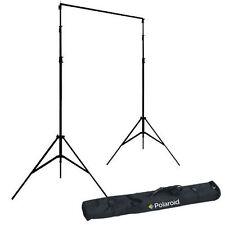 Pro Studio Black Premium Polaroid Muslin Backdrop (10' x 16.5')