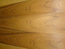 "Teak wood veneer 12"" x 24"" on paper backer ""A"" grade quality 1/40th"" thickness"
