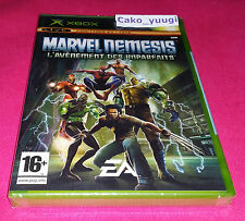 MARVEL NEMESIS L'AVENEMENT DES IMPARFAITS XBOX NEUF VERSION 100% FRANCAISE