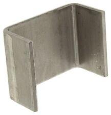(8) Heavy Duty Weld on 2x4 Steel Stake Pockets for Trailer Truck 4 Ga -27022