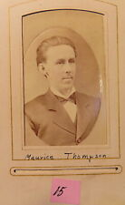 Rare,Will H. Thompson & Maurice Thompson, Will H.Thompson Estate,Photos,Bows,Art