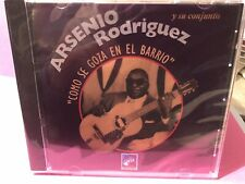 RARE cd SALSA Tumbao Arsenio Rodriguez COMO SE GOZA EN EL BARRIO La Gente Bronx