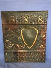 "Antique 24"" x 20"" Salvaged Detailed Victorian Metal Tin Ceiling Tile ORNATE-A"