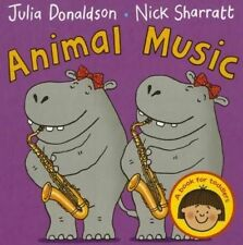 Animal Music, Donaldson, Julia, New Book