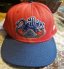 New Era Tulsa Drillers MiLB Los Angeles Dodgers Hat Size 8 1/2 minor