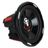 Boss Phantom 12 Inch 2300 Watt Max Power Car Audio Subwoofer with DVC Power
