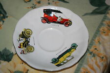 Royal Albert Larger Mans Saucer with Old Cars Wolseley, Austin and Rolls - Royce