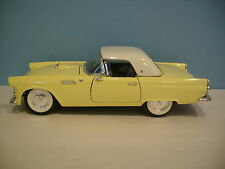 1:18 Scale Road Legends 1955 FORD THUNDERBIRD CONVERTIBLE Die-cast Collectible