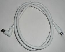 1M TV ANTENNA CABLE NEW fly cord/lead/wire Digital aerial coax hdtv Male 90° Mle