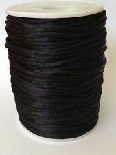 Satin Nylon Cord Shamballa Macrame Beading Chinese Knot 2mm 92yd-100yd Roll DIY