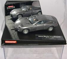 CARRERA EVOLUTION 25701 SLOT CAR ASTON MARTIN V12 VANQUISH JAMES BOND 007 MB