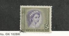 Rhodesia & Nyasaland, British, Postage Stamp, #153 F-VF Used, 1954