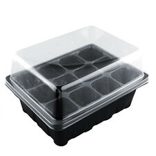 12 Holes Plant Seeds Grow Box Insertpagation Nursery Seedling Starter Tray&