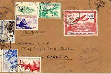 FRANCE Timbre de de la LVF n° 3-6/10 sur lettre