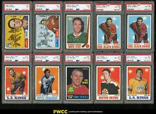 Lot(18) 1968-72 OPC Topps w/ Burns Stanfield McDonald Burns, ALL PSA 7 8 (PWCC)