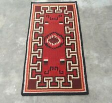 Navajo Kilim Hand-Woven Tribal 3x5 Turkish Kilim Oriental Area Rug Carpet 3'x5'
