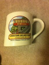 JOHNSTOWN PA   COFFEE MUG-- INCLINED PLANE -- WORLDS STEEPEST -FREE SHIP-VGC