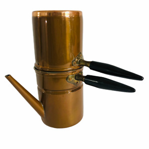 Rare Vintage Copper Expresso DOURO Made In Portugal COPPER Italian Coffee Maker