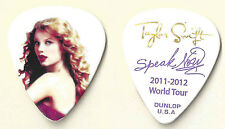 Taylor Swift Speak Now 2011-2012 Tour Guitar Pick