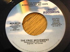 FREE MOVEMENT - I'VE FOUND SOMEONE OF MY OWN / LOVE UNLIMITED - WALKIN' IN THE..