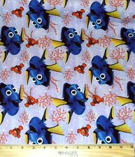 FINDING DORY FABRIC! 1/2 YARD FOR QUILTING~CLOTHES! DISNEY~PIXAR~NEMO! FISH