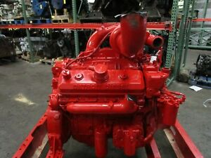 GOVERNMENT SURPLUS DETROIT 8V92T SILVER DIESEL ENGINE