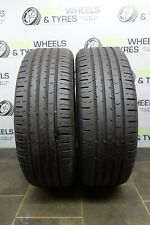 2x 205 60 16 Tyres (205/60 R16) Continental Conti 92V **5.3MM!** Run Flat Tyres!
