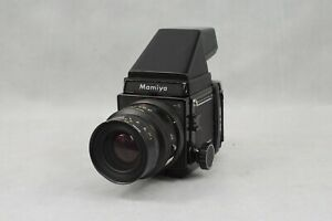 Mamiya RB67 Pro S Medium Format Film Camera 90mm Lens With Carry Case Untested